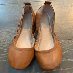 Ballet Flats Light Brown Universal Thread Like New